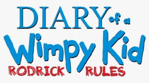 Diary Of A Wimpy Kid Rodrick Rules Title Hd Png Download Kindpng
