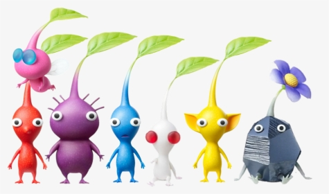 Pikmin 4 Disc And Sd Card Pikmin 4 New Pikmin Types Hd Png