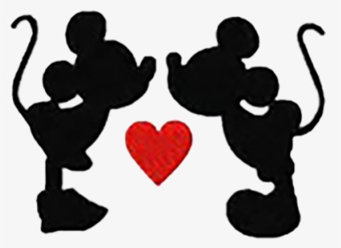 Mickey Silhouette Png Mickey And Minnie Pumpkin Template Transparent Png Kindpng