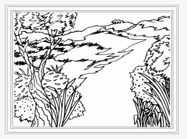 landscape coloring pictures - slubne-suknie.info | 280x378