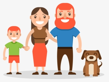 Family Cartoon Wallpaper Happy Family Cartoon Images Hd Hd Png Download Kindpng
