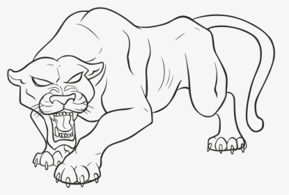 🎨 Black Panther Coloring Pages - Kizi Coloring Pages | 280x415