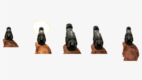 Doom Pistol Sprites Hd Png Download Kindpng