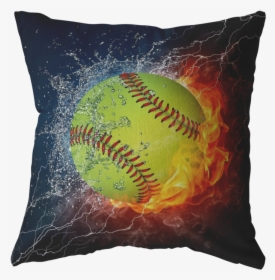 Softball On Fire Clip Art   Fast Pitch Softball Face with Flaming Hair  Vector Image   Fastpitch softball, Softball, Hair vector