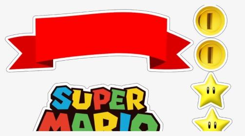 Super Mario Bros Free Printable Cake Toppers Topo De Bolo Super