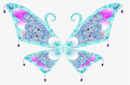 Aras Enchantix Wings By Merma Winx Club Fairy Wings Hd Png Download Kindpng