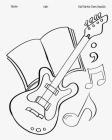 Guitar Drawing Png Images Free Transparent Guitar Drawing Download Kindpng