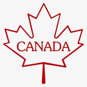 Outline Canada Maple Leaf Hd Png Download Kindpng