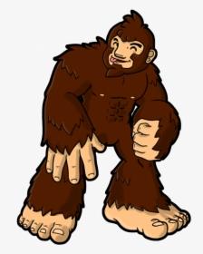 Bigfoot Drawing Cartoon Clip Art Bigfoot Png Clipart Transparent Png Kindpng