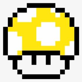 Pixel Art Facile Champignon Mario Hd Png Download Kindpng
