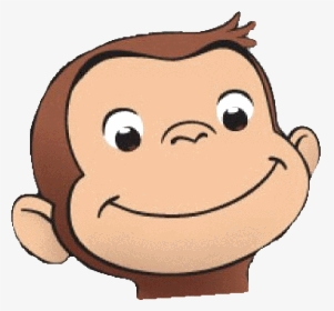 Monkey Collection Curious George Face Clipart Hd Png Download Kindpng