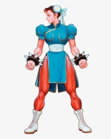 original female street fighter characters