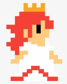 Super Mario Peach Pixel Hd Png Download Kindpng