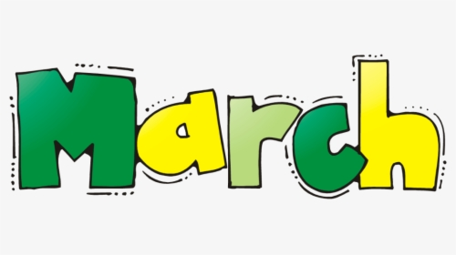 March Clipart, HD Png Download - kindpng