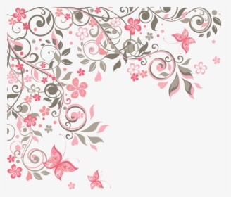 transparent floral pattern png vector corner flower png png download kindpng transparent floral pattern png vector