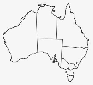 Printable Map Of Australia Free