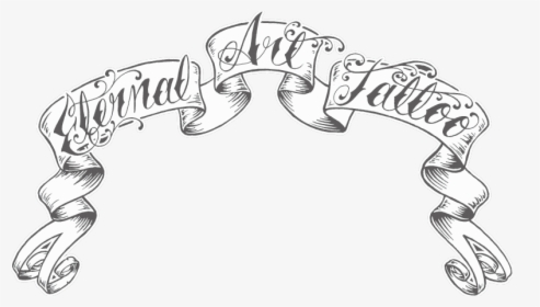 Collection Of Free Vector Tattoo Template Banner Tattoo