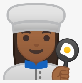 Woman Her Cooking Hand Chef Spoon In Clipart Female Chef Cartoon Png Transparent Png Kindpng