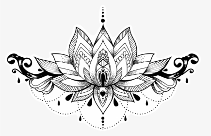 Flower Tattoo Png Images Free Transparent Flower Tattoo Download
