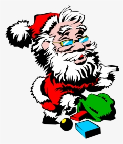Human Behavior Art Tree Gambar Santa Claus Keren Hd Png Download Kindpng