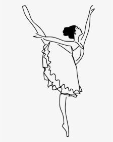 Collection Of Free Dancer Drawing Watercolor Download Transparent Background Ballet Png Png Download Kindpng