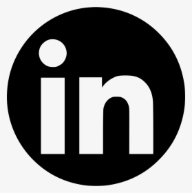 Icono Linkedin Png 2018 Png Download Circle Transparent
