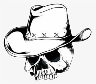 Cowboy Hat Vector Graphics Skull Clip Art Cowboy Skull Hat Png Transparent Png Kindpng Influenced by 19th century mexican culture, today it is worn by many people, and is in this gallery cowboy hat we have 94 free png images with transparent background. cowboy hat vector graphics skull clip