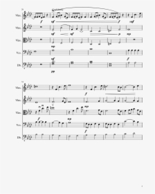 Someday My Prince Will Come String Quartet Sheet Music Hd Png Download Kindpng