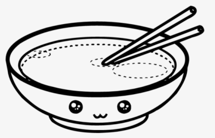 Sopa Kawaii Doodle Freetoedit Cute Kawaii Foods Coloring Page Hd Png Download Kindpng