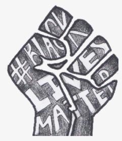 Aminata Ka 19 Black Lives Matter Drawing Hd Png Download Kindpng