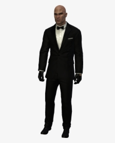Absolution Agent 47 Suit Costume Hitman Absolution Outfits Hd Png Download Kindpng