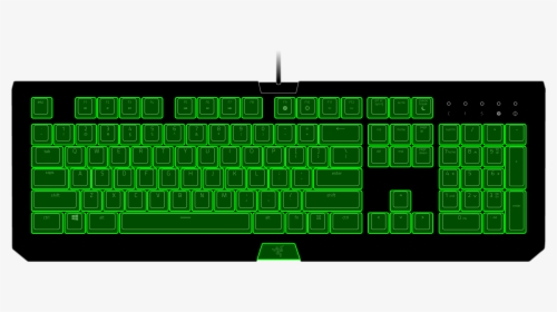 Computer Keyboard Transparent Cartoons Computer Keyboard Hd Png Download Kindpng