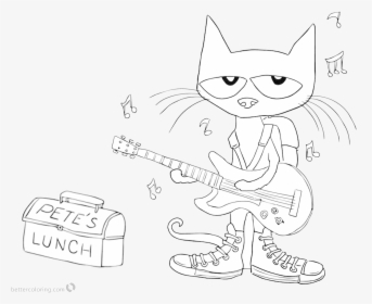 Cat Clipart And Coloring Royalty Free Download Pin Cute Coloring Pages Cats Hd Png Download Kindpng