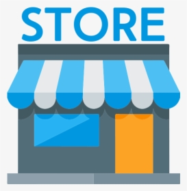 Store Vector Icon - Retail Store Icon Png, Transparent Png - kindpng