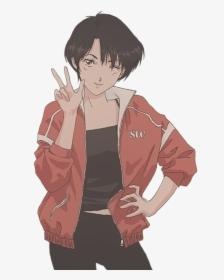 Anime Girl Aesthetic Tomboy Hd Png Download Kindpng
