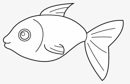 Red Fish Blue with Spots Clip Art
