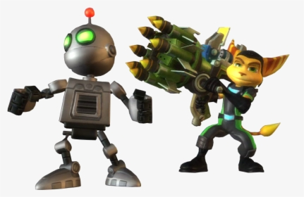 Ratchet And Clank Ps4 Render Hd Png Download Kindpng