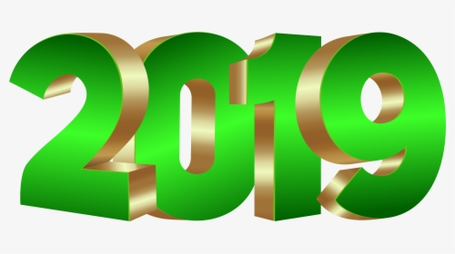 png transparent happy new year 2019 png clipart png 2019 green and gold png download kindpng png transparent happy new year 2019 png