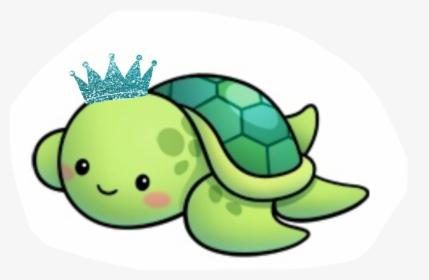 Cute Sea Turtle Cartoon Cute Turtle Drawing Easy Hd Png