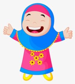 Clipart Family Muslims Muslim Dan Muslimah Kartun Hd Png Download Kindpng