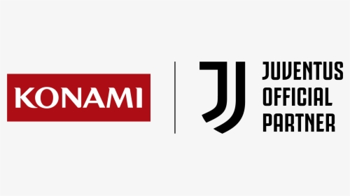 Konami And Juventus Fc Logos Konami Juventus Hd Png Download Kindpng