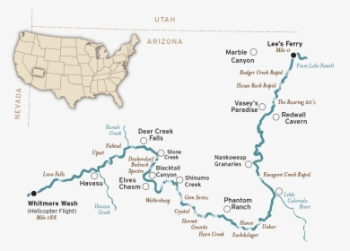 Grand Canyon Map Simple Grand Canyon National Park Map Hd