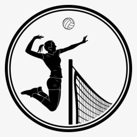 Volleyball Png Best On - Kid Playing Volleyball Clipart, Transparent Png -  vhv
