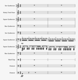 Sarias Song Flute Rockefeller Street Piano Sheet Music Hd Png