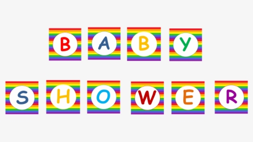 Rainbow Baby Shower Banner Clipart Png Download Rainbow Baby Shower Banner Transparent Png Kindpng