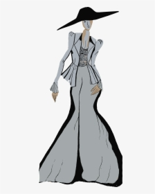 Transparent Fashion Clipart Black And White Illustration Art Sketch Of Principles And Elements Hd Png Download Kindpng