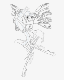 Coloring Pages - The Winx Club Photo (18341762) - Fanpop | 280x224