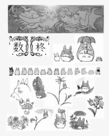 Totoro Studio Ghibli Characters Hd Png Download Kindpng