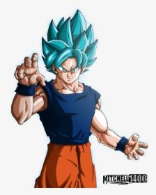 Transparent Super Saiyan Blue Goku Png Perfected Super