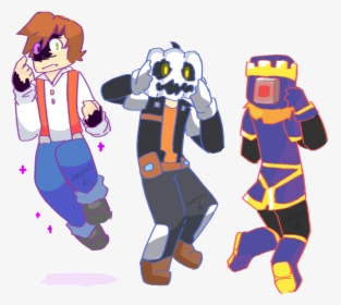 Minecraft Story Mode Characters Jesse Png Download Minecraft